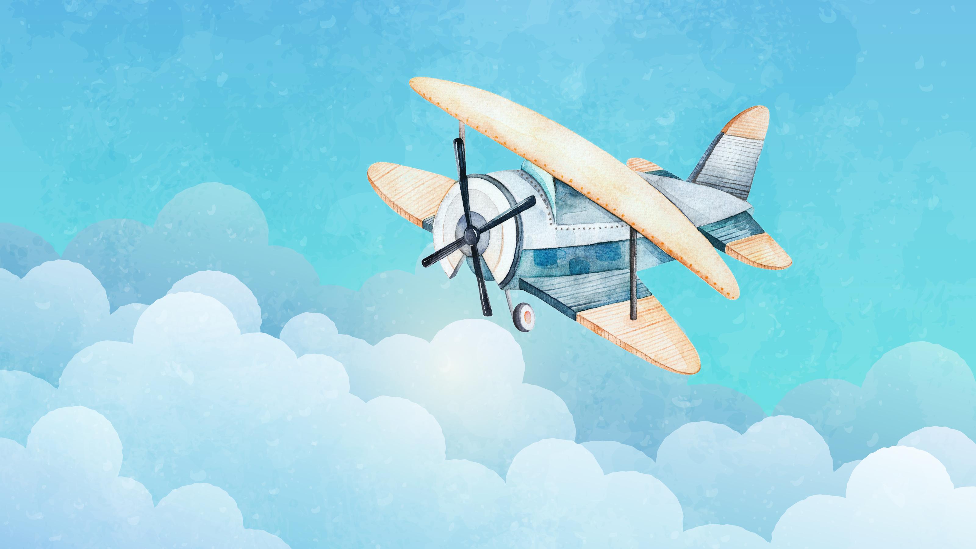 雲講堂-【英語繪本說故事】尋找消失的飛機
